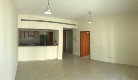 1BR Al Thayyal Apt in Greens | Road Facing