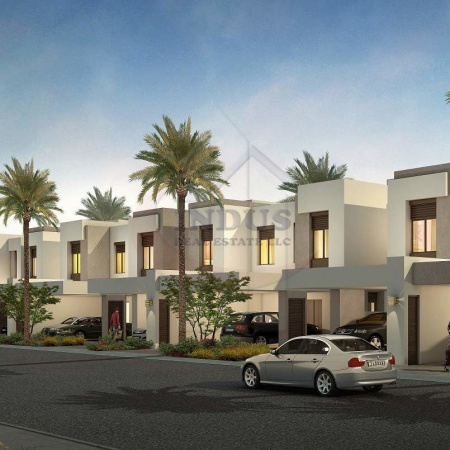 Back-to-back View | Type 10 3BR+M Townhouse