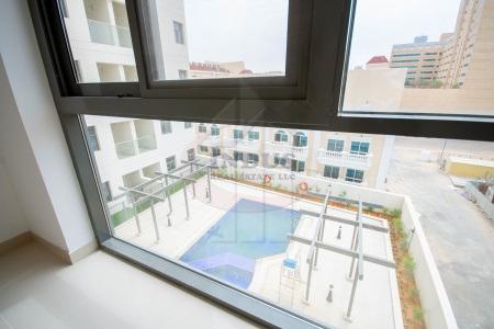 Brand New 1BR with Storage and Pool View