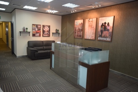 Fully Furnished Office Space with Lake View