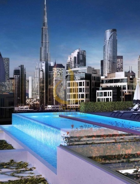 Fully furnished Studio 1% Per month with Meydan View