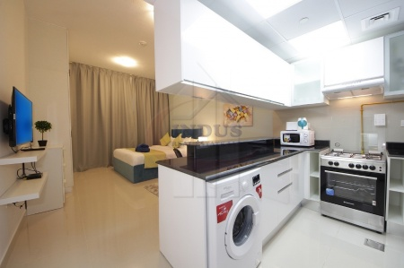 Fully Furnished Studio | Chiller-DEWA Included