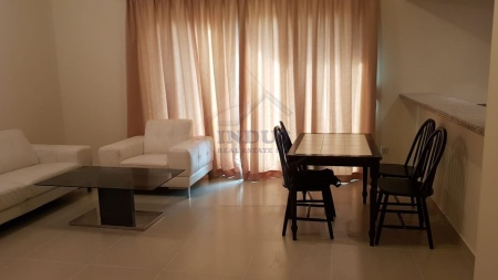 Furnished 1BR | Garden and Road Views