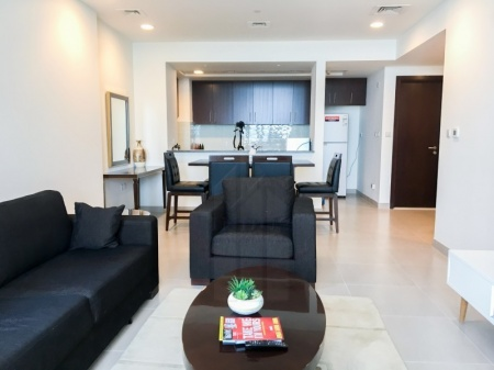 Furnished 2BR with Creek View Dubai Wharf