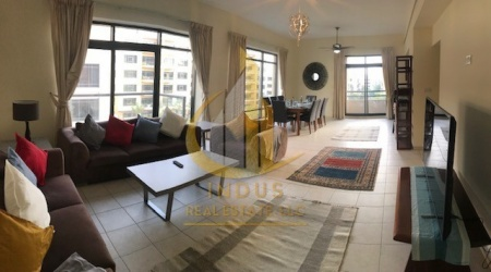Furnished 4BR with Balconies + Closed Storage