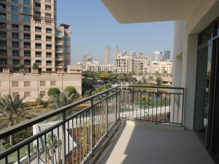 Golf & canal view|3BR+Maids Greens Panorama
