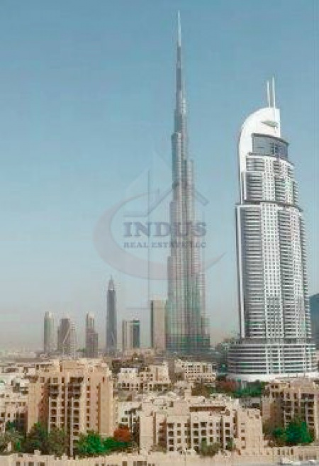Good condition | 2BR | Burj View | Tower C