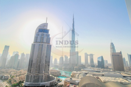 Luxurious|Fountain and Burj View | Fully Furnished