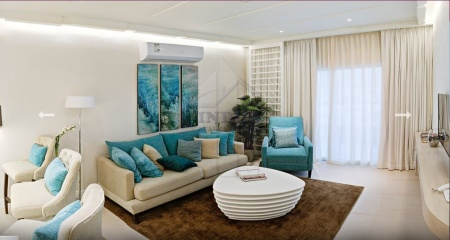 Luxury Apartments with Palm and Sea View