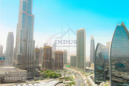 Luxury Living|Spacious | Studio |Burj Khalifa View