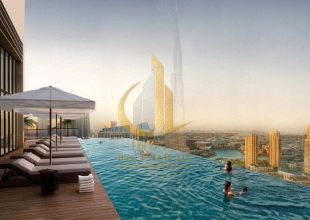 Luxury Tower w/Stunning View in Downtown Dubai
