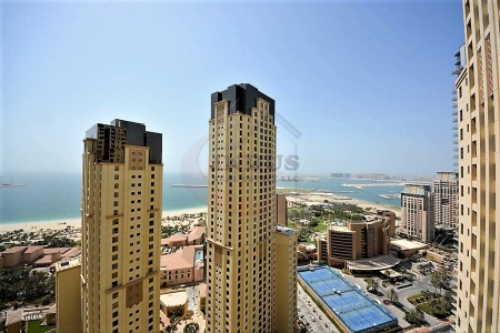 Magnificent Sea/Palm View | 3BR+Maid's room