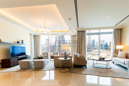 Serviced Apt | Luxurious | Burj and Fountain View