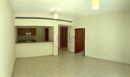 Spacious 1BR | Large Balcony | Road Facing