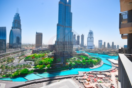 Spectacular Full Burj & Fountain View|3BR|Tower B