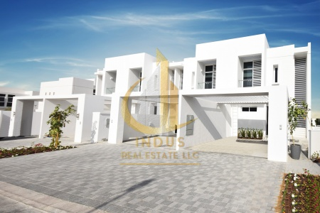Single Row Brand New Arabella Town House For Rent