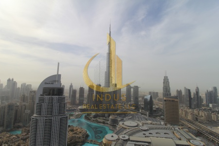Stunning|Full Burj and Fountain View|Middle unit
