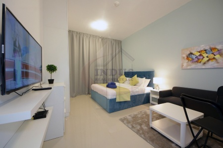 Vacant! Fully Furnished Studio Inclusive Chiller
